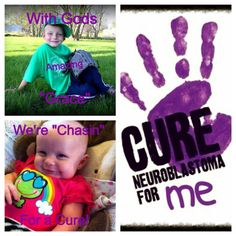 "With Gods ""Grace"" we're ""Chasin"" for a cure"