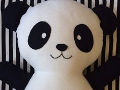 Pino Panda Plush Toy  Medium by OgopogoLand on Etsy