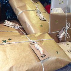DIY: Personaliza tus regalos con etiquetas de Reno-Cacahuete