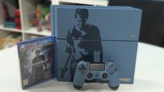 Uncharted 4 PlayStation 4 Unboxing