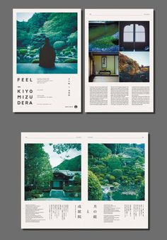 The photos here are breathtaking. The grid-based layout . Das gitterbasierte Layout auf der zweiten Sei… The photos here are breathtaking. The grid-based layout on the second page … – It& A Design Thing – - Editorial Design Layouts, Magazine Layout Design, Magazine Layouts, Graphisches Design, Buch Design, Cover Design, Logo Design, Graphic Design Agency, Graphic Design Layouts