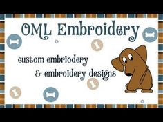 How to create amazing embroidery lettering with Embird Studio - YouTube