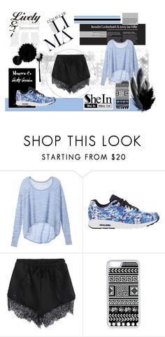 """""""Black and blue!"""" by salihovic-nihad ❤ liked on Polyvore featuring Victoria's Secret, NIKE and CellPowerCases"""