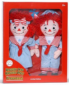 Raggedy Ann & Andy Pinwheels Sailors Limited Edition Doll...