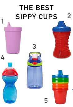 The Best Sippy Cups for your toddler!