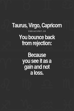- Which Zodiac Squad would you fit in? Find out here- More Zodiac Compatibility here Capricorn And Virgo, Capricorn Quotes, Zodiac Signs Horoscope, Virgo Men, Taurus Facts, Virgo Zodiac, Zodiac Quotes, Horoscopes, Taurus Bull