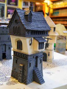 Miniature Warfare: Warhammer Scenery - The 2 towers