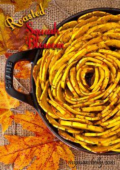 delicata squash, roasted squash, vegetable side dishes, Thanksgiving recipes,