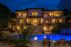 Villa Therese, Petion-Ville in Port-au-Prince, Haiti.