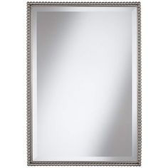 "Uttermost Sherise Beaded 31"" High Rectangular Wall Mirror - #X0558 