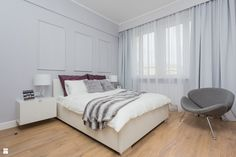 Sypialnia styl Glamour - zdjęcie od Pracownia Wielkie Rzeczy - Sypialnia - Styl Glamour - Pracownia Wielkie Rzeczy