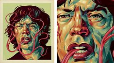 pretty awesome Jagger illustration.