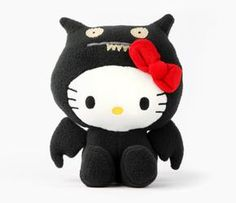 Ugly Doll x Hello Kitty collection! I want all of them :)