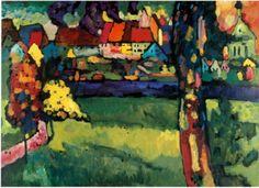 Murnau, 1909 by Kandinsky