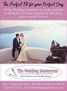 The Wedding Seamstress Colorado Custom Gowns Alterations