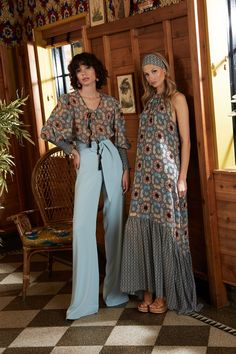 Sachin & Babi Pre-Fall 2020 Fashion Show : Sachin & Babi Pre-Fall 2020 Collection - Vogue Lazy Fall Outfits, Boho Outfits, Fashion Outfits, Vogue Vintage, Looks Chic, Looks Style, 2020 Fashion Trends, Fashion 2020, Vogue Fashion