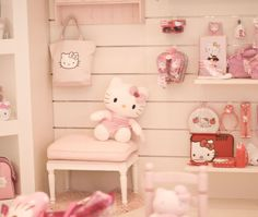 I need a little girl to give Hello Kitty stuff to!
