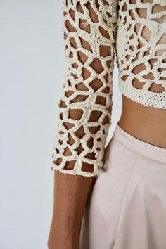 Crochet Skirts, Crochet Clothes, Crochet Designs, Crochet Patterns, Crochet Bikini, Crochet Top, Knit World, Hippie Crochet, Summer Knitting