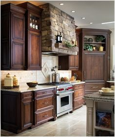 A Kitchen Hood that Stands Out