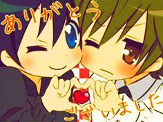 Junjou Romantica Hiroki Kamijō & Nowaki Kusama