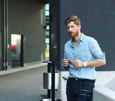 #zippers #plaid #denimshirt #denim #watch #eyes #beardmen #look #sun #mensfashionreview #menwithstreetstyle #fashionart #modamasculina #gentleman #dappermen #dapperstyle #italianstyle #lookbook #influencer #glam #instamoda #fashionista #menstyle Men With Street Style, Men Street, Fashion Art, Mens Fashion, Dapper Men, Italian Style, Bearded Men, Denim Shirt, Plaid