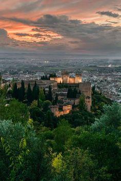 #Granada #Alhambra