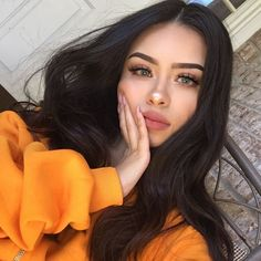 Find images and videos about girl, makeup and beauty on We Heart It - the app to get lost in what you love. Makeup Goals, Makeup Inspo, Makeup Inspiration, Makeup Trends, Skin Makeup, Beauty Makeup, Hair Beauty, Makeup Style, Girls Tumblrs