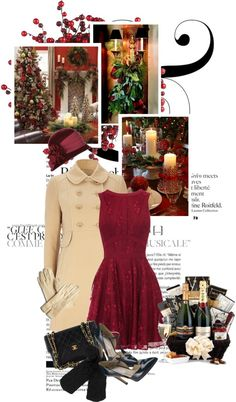 """""""for the hostess...(dinner with the neighbors)"""" by mercimasada ❤ liked on Polyvore"""