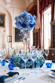 149 top blue centerpieces images in 2019 wedding ideas dream rh pinterest com