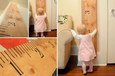 DIY Child Growth Chart Kit  3 Color Options by ShelbysBoutiques, $19.99