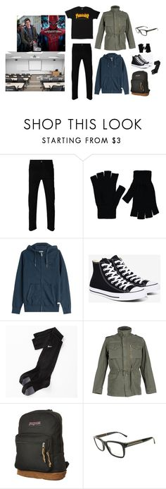 """Peter Parker Outfit"" by wickedghostman94 on Polyvore featuring Gucci, George, True Religion, Converse, NIKE, Department 5, JanSport, Burberry, men's fashion and menswear"