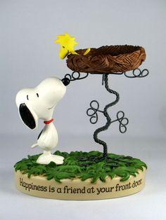 60th Anniversary Hallmark Figurine: Snoopy and Woodstock