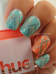 Native American Inspired Nails by I Feel Polished