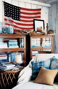 Ralph Lauren Home Living Room, Home And Living, Ralph Lauren House, Coastal Living Rooms, Coastal Bedrooms, Nautical Home, Living Room Inspiration, Home Bedroom, Bedroom Small