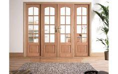 Conjunto de porta francesa Worthing Oak Divider - Lilly is Love Hanging Room Divider Diy, Small Room Divider, Room Divider Bookcase, Bamboo Room Divider, Glass Room Divider, Room Divider Walls, Living Room Divider, Divider Cabinet, Cheap Room Dividers