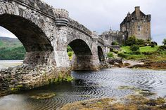medievallove:  Side view of Eilean Donan castle, Scotland. by marechal jacques on Flickr.