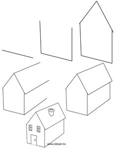how to draw a house | learn how to draw a house with simple step by step instructions