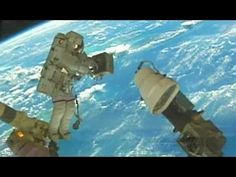 Space Shuttle STS-112 Atlantis Space Station Assembly ISS-9A S1 Truss 2002 NASA: http://youtu.be/j8UCHvSK09E #Shuttle #SpaceShuttle #ISS