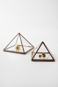 I want a pretty pyramid for my nightstand. Am I the only one who cant sleep with jewelry on?