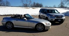 From a blizzard to clear blue skies and sunny weather can cause confusion. We carry vehicles for all weather!