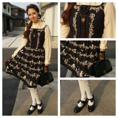 #coord #coordenate #outfit #harajuku #japanstreetfashion #Lolitafashion #innocentworld