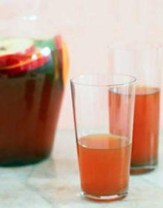 Iced Apple Tea.