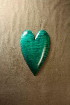 Green Ooak 5th Wood Wedding Anniversary by TreeWizWoodCarvings