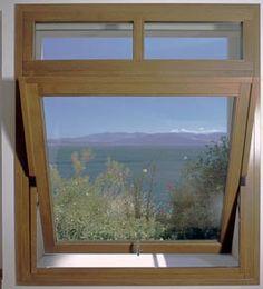 Custom Wood Pivot Window by America Italiana