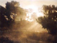 Boulandiere Morning  152 x 183 Painting, Thomas Darnell