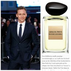Q: What cologne does Tom Hiddleston use? A: Armani Prive Oranger Alhambra which retails for $165/100ml. A sparkling unisex fragrance with citrus notesFull Description: Oranger Alhambra showcases the...