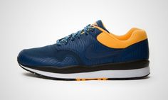 Nike Air Safari (blau / orange)