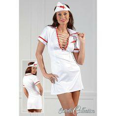 Zuster Set - Kostuums - Dames Lingerie , Thé number 1 Exclusive Erotic shop in Europe