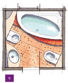 Kleine Bäder, Minibäder, Kleine Badezimmer unter 4m²  Home: Badezimmer / Bathroom  Pinterest ...