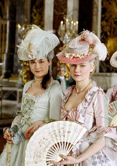 Marie Antoinette, one of the best costume shots!